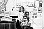 Smiling Girls, African American, computer, classroom, 1960's, PORV28P09_17