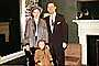 Family, father, mother, daughter, coats, 1950's, PORV29P01_13