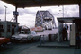 Chevy, Chevrolet Car, Gateway Bridge, USA Mexican Border, Mexico, Brownsville Texas, 1965, 1960's, PRAV01P01_15