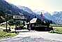 Halt, building, hut, border crossing gate, mountains, Alps, Austria, 1970, 1970's, PRAV01P08_15