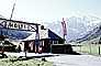 Halt, building, hut, border crossing gate, mountains, alps, Austria, 1970, 1970's, PRAV01P08_16
