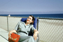 Retro, Lounging, Relaxing, Beach, Chair, 1950's, RVLV01P02_04