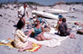 Beach, sand, Cape Cod Massachusetts, August 1968, 1960's