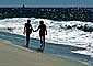 Couple on Beach, Pacific Ocean, sand, water, RVLV02P07_18