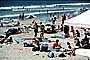 Crowded Beach, Umbrellas, Parasol, Sand, Shoreline, Del Mar, RVLV05P01_13