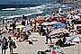 Del Mar, Parasol, Umbrellas, people, beach, Crowded Beach, Sand, Shoreline, RVLV05P01_16