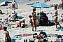 Del Mar, Beach, Ladies, Sunny, Crowded Beach, Umbrellas, Parasol, Sand, Shoreline, RVLV05P01_18