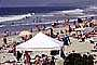Crowded Beach, Umbrellas, Parasol, Sand, Shoreline, Del Mar, RVLV05P02_10