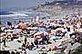 Crowded Beach, Umbrellas, Parasol, Sand, Shoreline, Del Mar, RVLV05P02_11