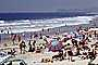 Del Mar, Crowded Beach, Umbrellas, Parasol, Sand, Shoreline, RVLV05P02_15