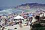 Del Mar, Crowded Beach, Umbrellas, Parasol, Sand, Shoreline, RVLV05P02_16
