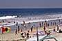 Del Mar, Crowded Beach, Umbrellas, Parasol, Sand, Shoreline, RVLV05P02_19