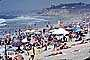 Del Mar, Crowded Beach, Umbrellas, Parasol, Sand, Shoreline, RVLV05P03_02