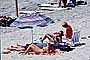 Sun Worshippers, Lounge Chair, surfboard, Parasol, Umbrellas, Sand, Del Mar, RVLV05P03_04