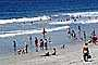 Crowded Beach, Waves, Pacific Ocean, summer, Sand, Shoreline, Del Mar, RVLV05P03_05