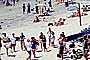 Sun Worshippers, Crowded Beach, summer, Sand, Umbrellas, Parasol, Del Mar, RVLV05P03_09