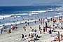 Del Mar, Crowded Beach, Umbrellas, Parasol, Sand, Shoreline, RVLV05P03_10