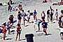 Sun Worshippers, Crowded Beach, summer, Sand, Umbrellas, Parasol, Del Mar, RVLV05P03_11