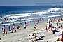 Del Mar, Crowded Beach, Waves, Pacific Ocean, summer, Sand, Shoreline, RVLV05P03_13