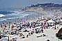 Crowded Beach, Umbrellas, Parasol, Sand, Shoreline, Waves, Pacific Ocean, Del Mar, RVLV05P03_14