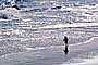 Little girl running on the beach, sand, water, RVLV05P08_01