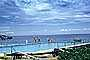 Swimming Pool, Ocean, clouds, sky, swimsuit, Kona Inn, Hawaii, 1960's, RVLV07P01_08