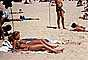 Woman, Sun Worshipper, Bikini, tan, legs, Valparaiso, Chile, 1977, 1970's