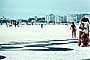 Copacabana Beach, Sand, Ocean, Windy, Windblown, 1977, 1970's