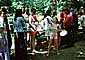Picnic Line, Table, women, August 1975, 1970's, RVPV01P10_03