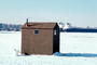 Ice Fishing, Snow, Cold, shacks