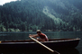 Rowboat, Boy, Male, Rowing, August 1968, 1960's