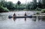 Canoe, Paddle, Men, Males, Snake River Idaho, 1950's