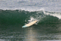 Lone Surfboard, Mavericks, California