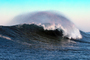 offshore wind spray, Mavericks, California