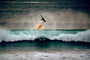 Water Texture, Beach Break, Wipe-out, Close-out, Carlsbad, California, Flying Surfer, Surfboard, SURV01P14_13