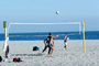 Volleyball Net, Beach, Pacific Ocean, Playing, SVBV01P04_05