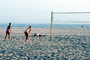 Volleyball Net, Beach, Pacific Ocean, Playing, SVBV01P04_09