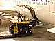Boeing 767, Honolulu International Airport (HNL), Highlift Pallet Truck, ground personal, TAAD01_131