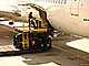 Boeing 767, Honolulu International Airport (HNL), Highlift Pallet Truck, ground personal, air cargo pallet, TAAD01_132