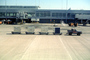 Air Cargo Pallets, carts, terminal, building, jetway, Airbridge, TAAV11P14_11