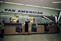Pan American World Airways Ticket Counter, women, December 1960, 1960's