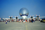 NASA Transport, Super Guppy, SGT, Super Guppy Turbine, NASA, PEASE AFB, head-on