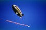Goodyear Blimp, Airplane Towing a Banner, Advertising, TADV01P05_19