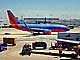 N795SW, Boeing 737-7H4, Southwest Airlines SWA, Baggage Carts