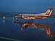 Rainy evening in Portland, Embraer EMB-120ER, N569SW, Twilight, Dusk, Dawn, TAFD01_164