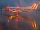 N569SW, Embraer EMB-120ER, Rainy evening in Portland, Twilight, Dusk, Dawn, TAFD01_167