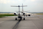 Aircraft lined up for take-off, N26545, Embraer EMB-145LR, Continental Express, Houston, TAFD01_259
