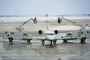 Bombardier CRJ-200ER, Spraying Deicing Fluid, N947SW, SkyWest, Cherry Picker, manlift, TAFD05_019