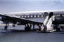 Douglas DC6B, Idlewild Airport, New York, Pan American Airlines PAA, Clipper Freedom, N6518C, 1950's, TAFV01P01_03