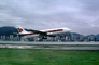Airbus A300, Thai Airlines, old Hong Kong Airport, 1982, 1980's